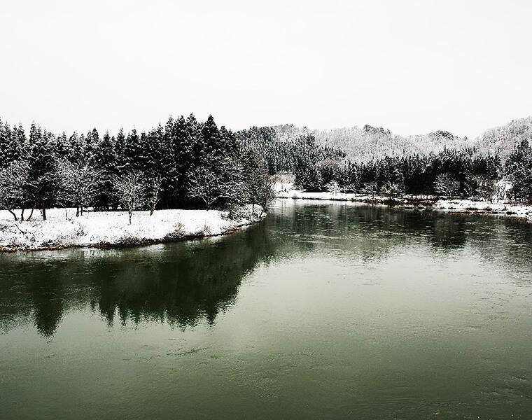 川前観音堂境内からの眺望