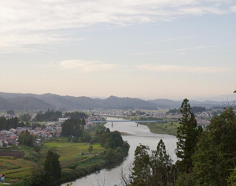 虹ヶ丘からの眺望