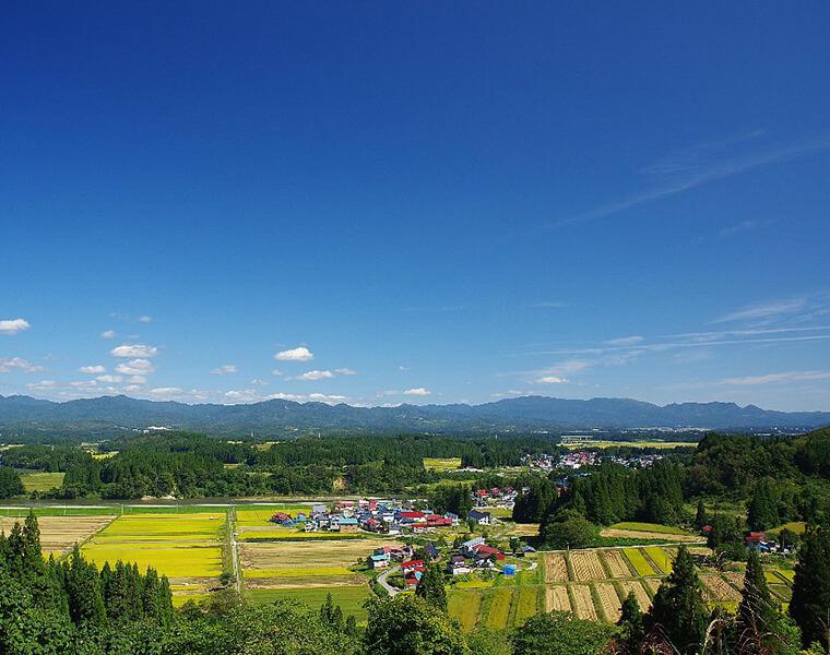 大浦小坂からの眺望